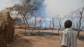 Fire Destroys 80 Houses in Yida Refugee Camp