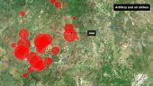 The Bombing Campaign, Mapped