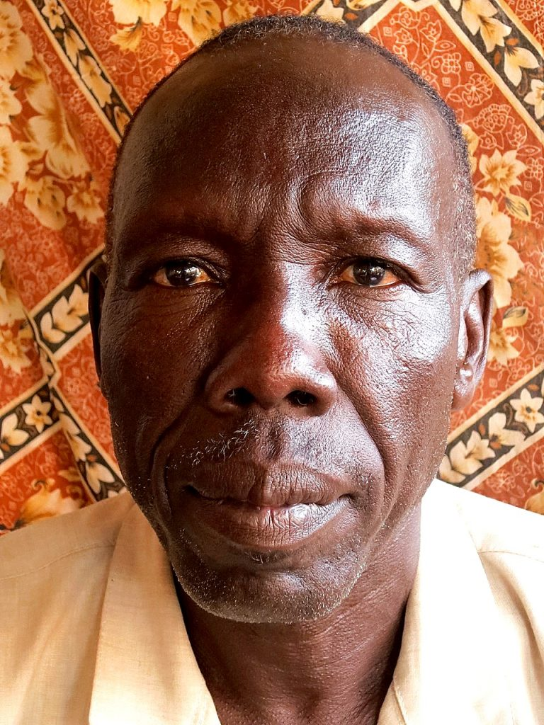 Al Nour Salih, Yida Refugee Council Chairman. Nuba Reports, Dec 2015.