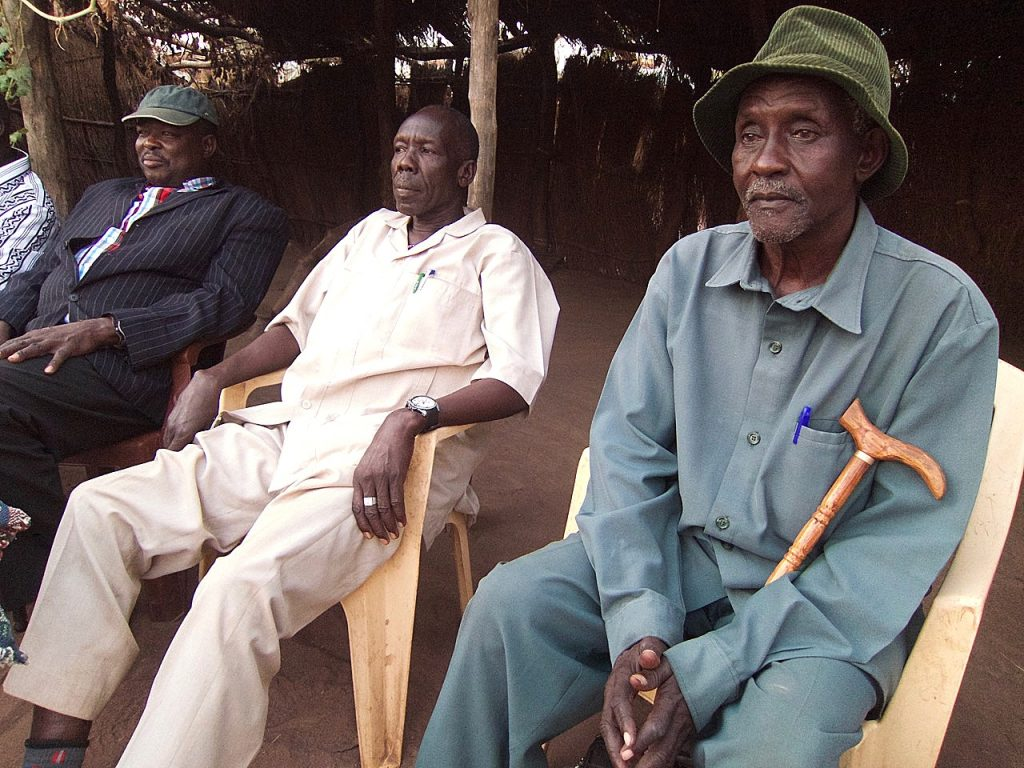 Camp Leaders in Yida. Nuba Reports, Dec 2015.