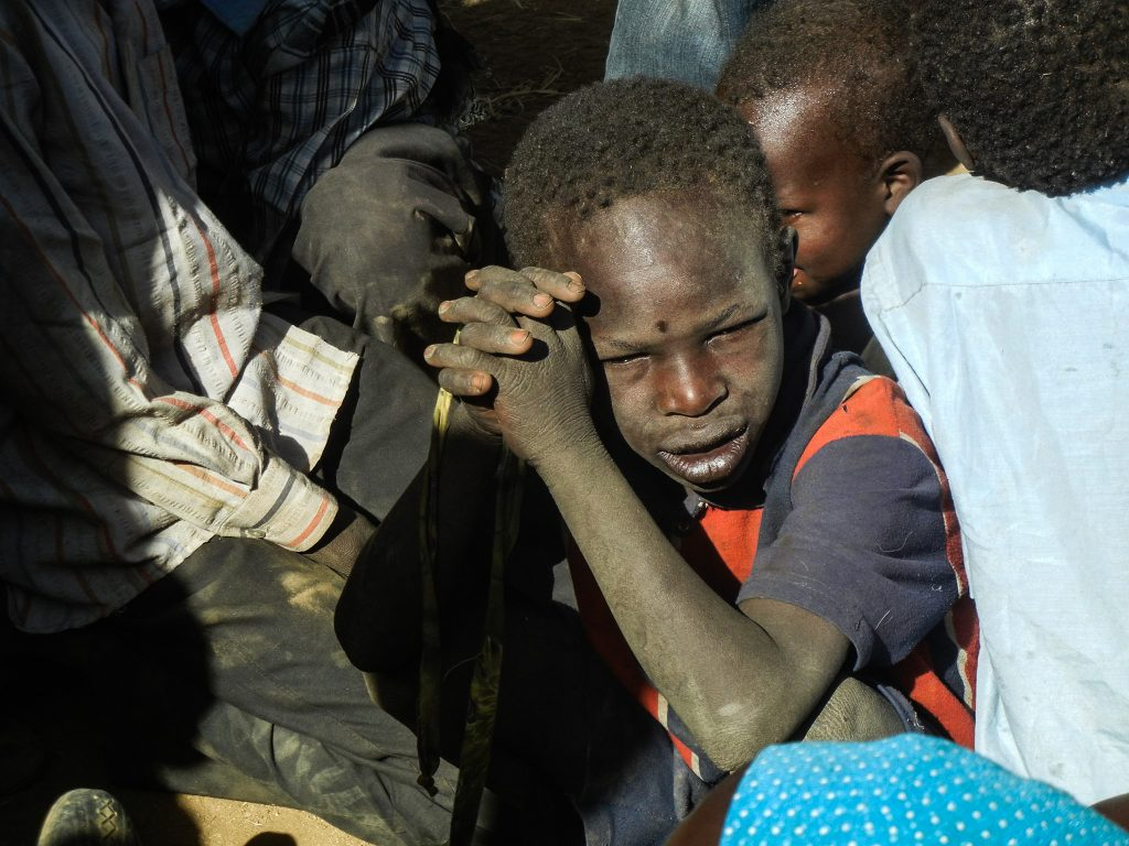23,000 new IDPs arrive in Sortoni, Northern Darfur after fleeing intense fighting between government troops and rebel forces in Jebel Marra.
