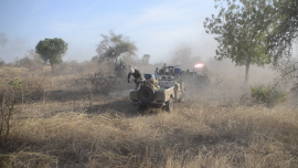 SUDAN, REBEL FORCES CLASH IN FIGHTING SEASON'S BIGGEST BATTLES YET
