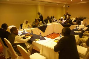 Delegates at the peace talks in Addis Ababa, Ethiopia (Nuba Reports)