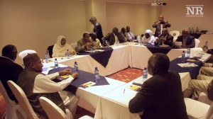 Delegates at the peace talks in Addis Ababa (Nuba Reports)