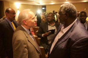 U.S. Special Envoy Donald Booth & SPLM-N Chairman Malik Agar (Nuba Reports)