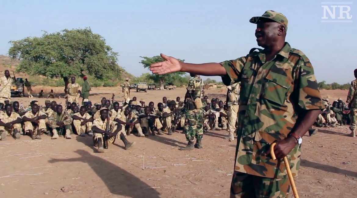 Hilu addresses SPLA-N soldiers